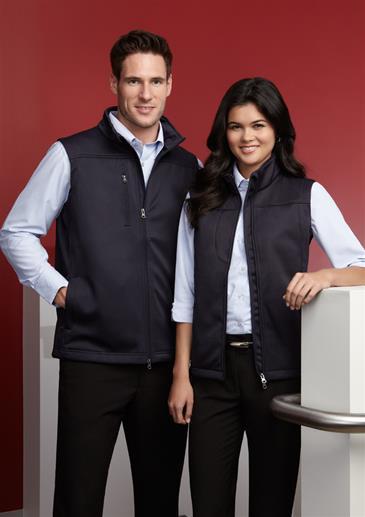 Biz – Ladies Soft Shell Vest – J29123