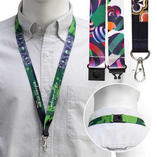 20mm Full Colour Lanyards – PK02018A