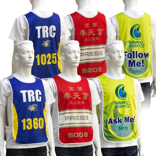 Numbered BIB Vest 38004