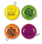Promotional Assorted Fluro Yo Yo's – LL6202