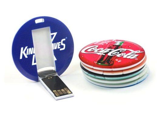 Oval USB Card