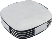 Executive Stainless Steel Coaster Set – G724