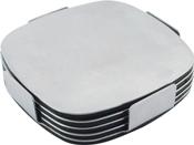 Executive Stainless Steel Coaster Set – G724