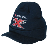 Acrylic Beanie with Peak – 4245