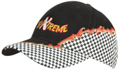 Rift Embroidery and Checks Cap – 4180