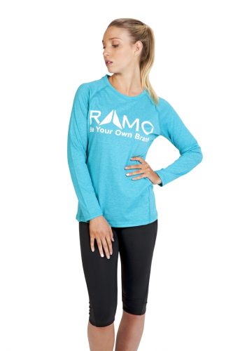 RAMO Ladies Greatness Heather Long Sleeve – T223LD