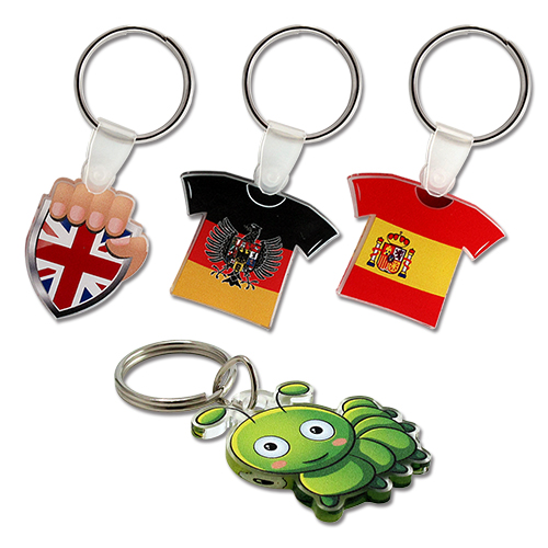 PK27001A – 3mm Transparent Acrylic Keyring