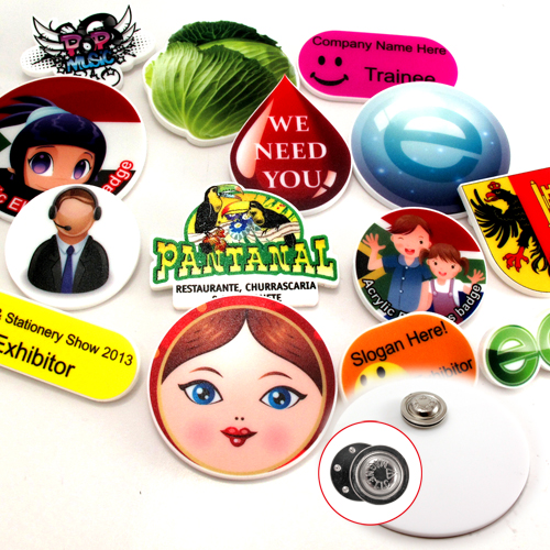 Acrylic Badges – PK27019D