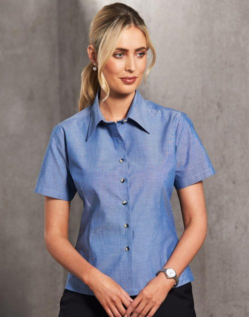 Ladies Chambray Short Sleeve – BS05