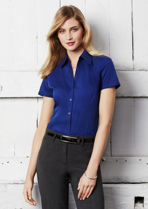 Ladies Metro Short Sleeve Shirt – LB7301