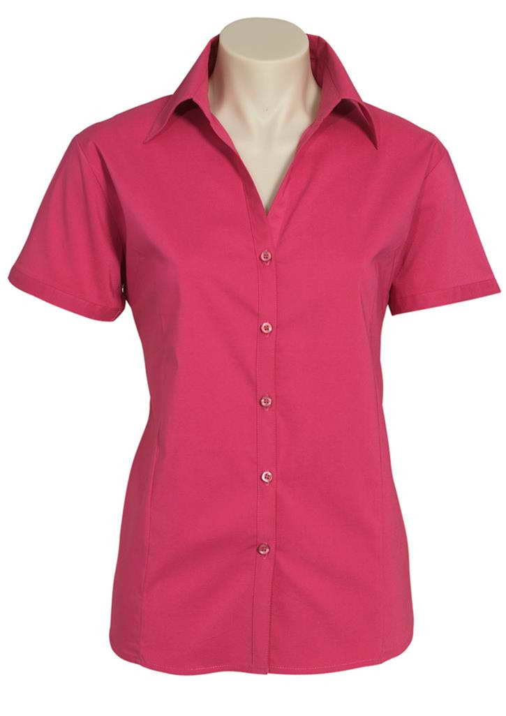 Biz – Ladies S/S Stretch Metro – LB7301