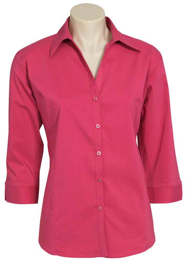 Biz – Ladies ¾ Metro Shirt – LB7300