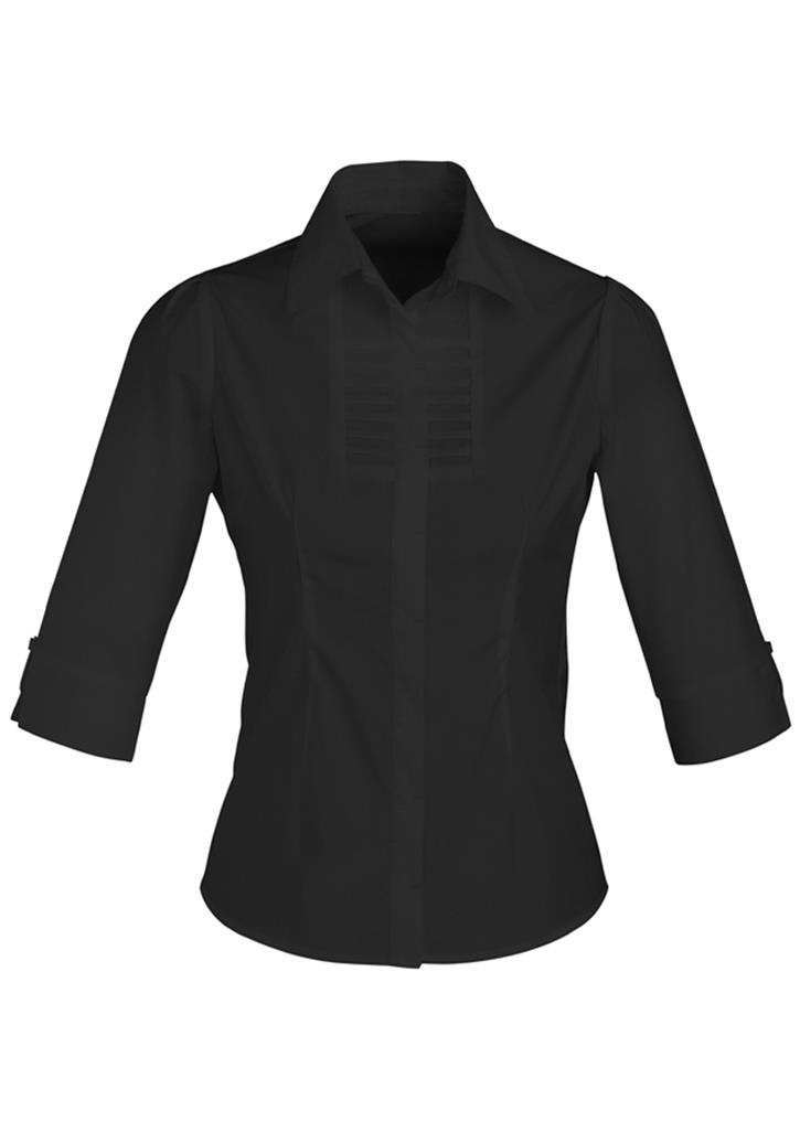 Biz – Ladies 3/4 Berlin Shirt – S121LT