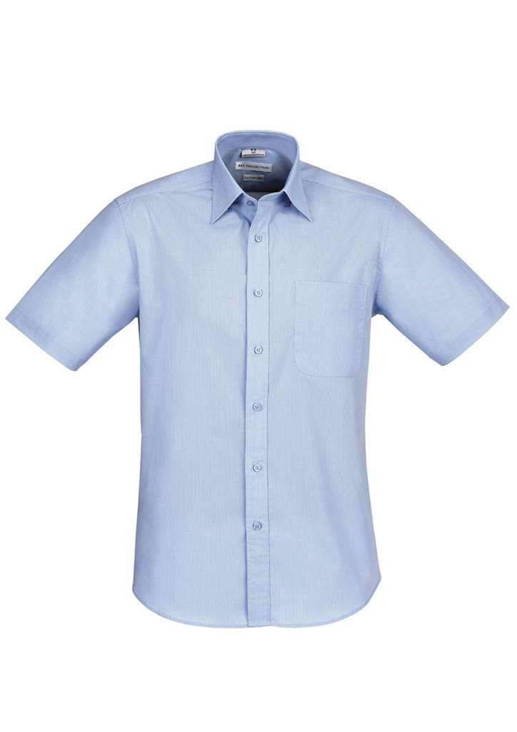 Biz – Mens S/S Chevron Shirt – S122MS