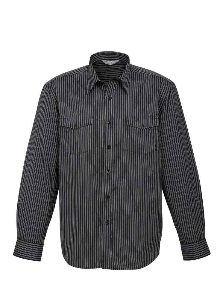 Biz – Mens L/S Cuban Shirt – S10410