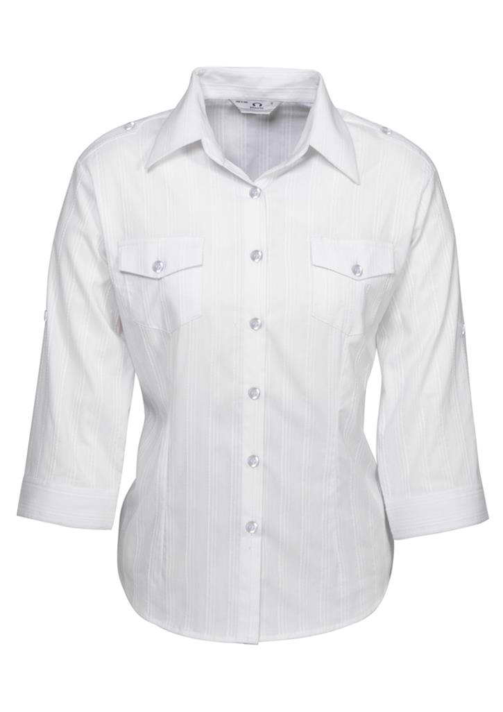 Biz – Ladies ¾ Brooklyn Shirt – S29620