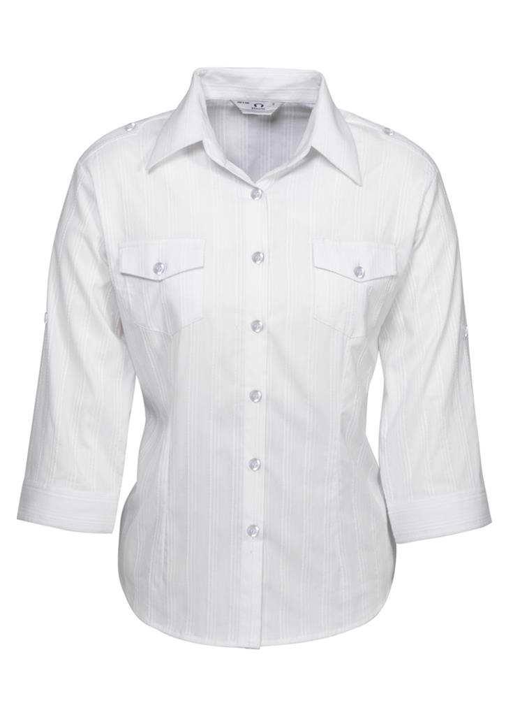 Biz – Ladies ¾ Brooklyn Shirt – S29620