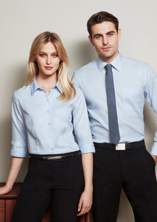 Ladies Luxe 3/4 Sleeve Shirt – S10221