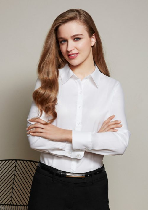 Ladies Luxe Long Sleeve Shirt – S118LL