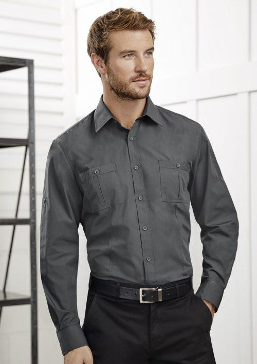 Mens Bondi Long Sleeve Shirt – S306ML