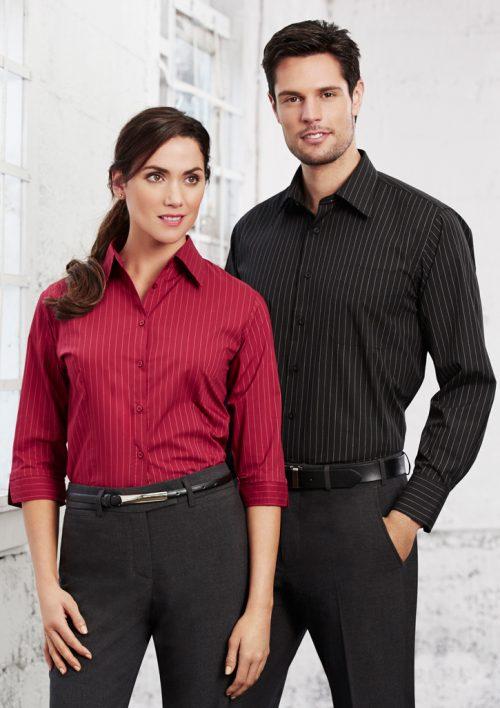 Mens Manhattan Long Sleeve Shirt – SH840
