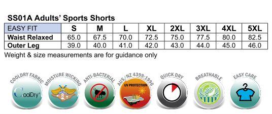 SS01A CROSS Shorts Adults