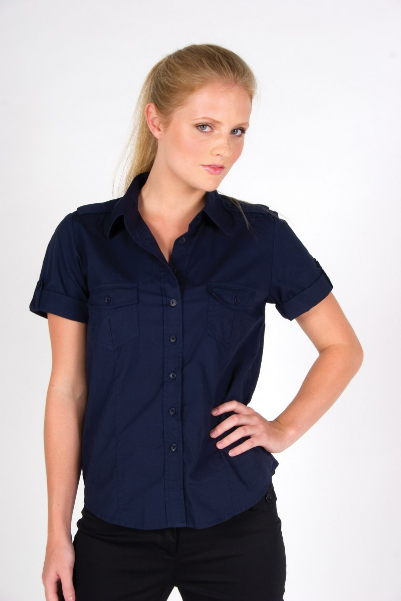 S002FS –  Ladies S/S Shirt