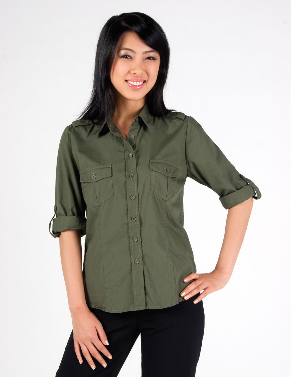 S002FL – Ladies 3/4 Military