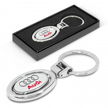 Spinning Metal Key Ring – 100318