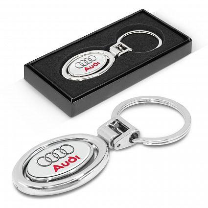 Spinning Metal Key Ring – 100318