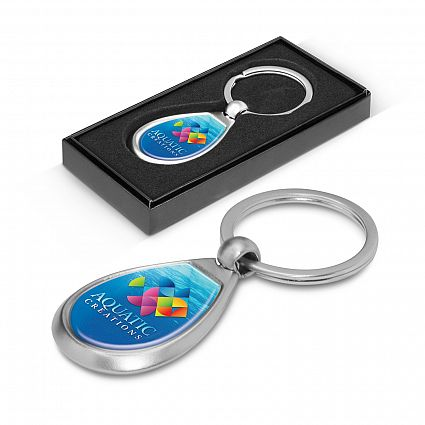 Drop Metal Key Ring – 100324