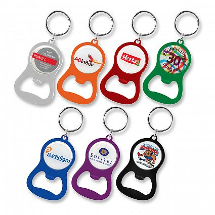 Chevron Bottle Opener Key Ring – 107106