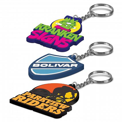 PVC Key Ring – Single Sided – 107109