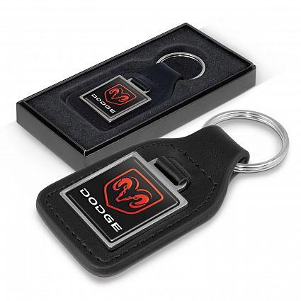 Baron Leather Key Ring – Square – 108597