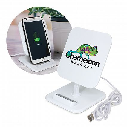 Phaser Wireless Charging Stand – Square – 116030