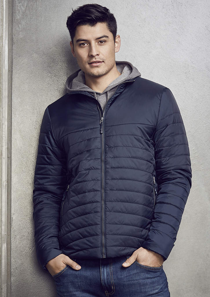 Biz – Mens Expedition Quilted Jacket – J750M