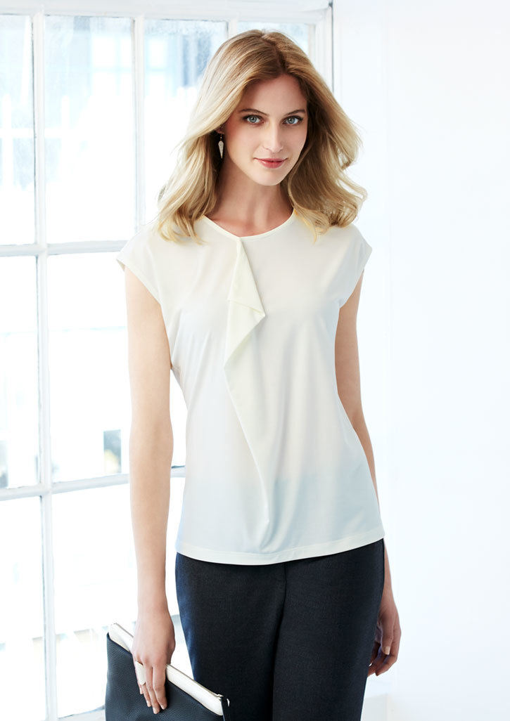 Biz – Ladies Mia Pleat Knit Top – K624LS