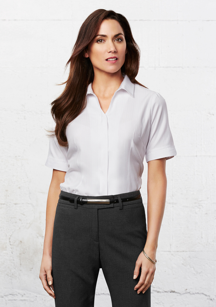 Biz – Ladies Preston Short Sleeve Shirt – S312LS