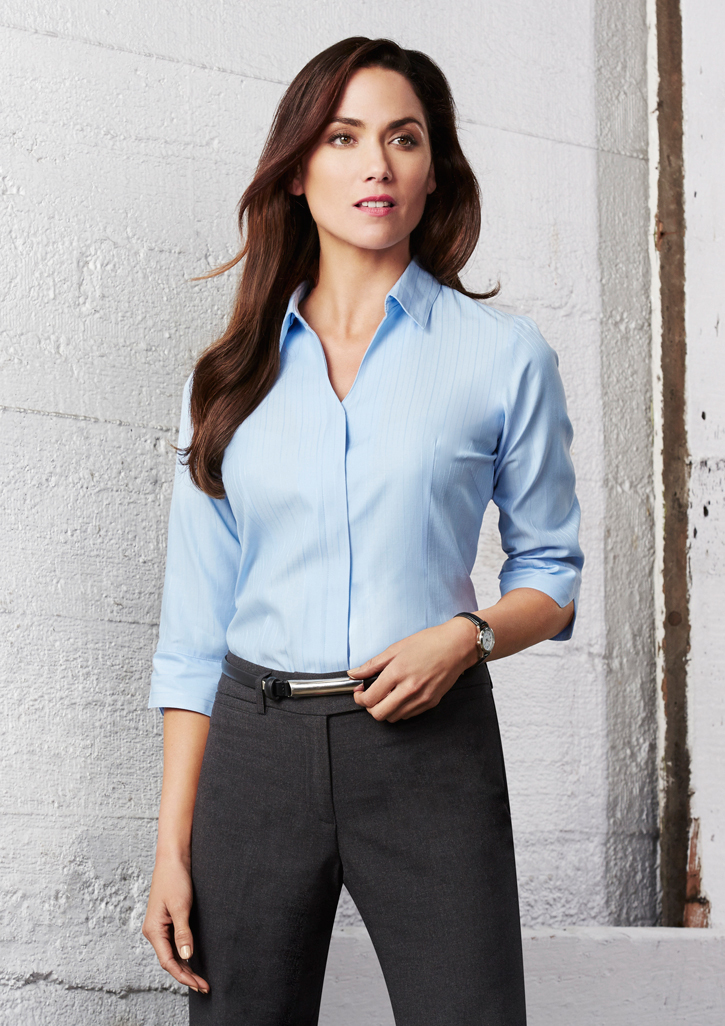 Biz – Ladies Preston 3/4 Sleeve Shirt – S312LT