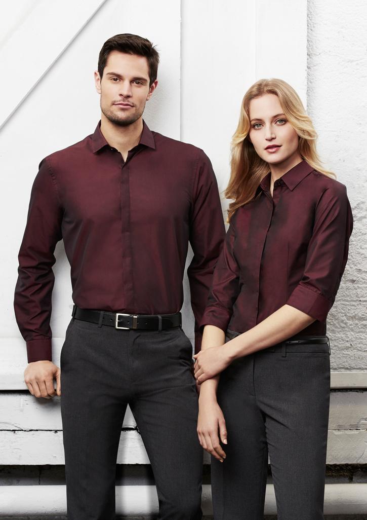 Biz – Ladies Hemingway 3/4 Sleeve Shirt – S504LT