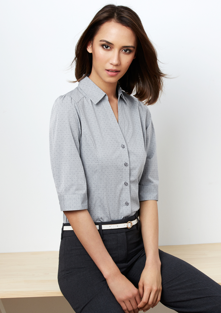 Biz – Ladies Trend 3/4 Sleeve Shirt – S622LT