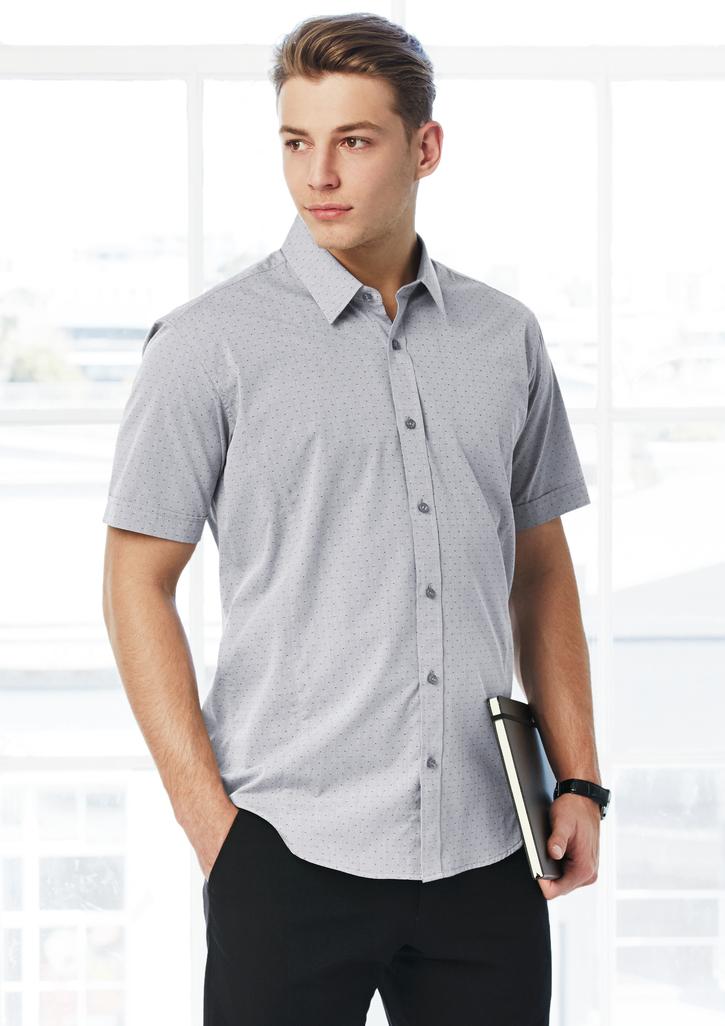 Biz – Mens Trend Short Sleeve Shirt – S622MS