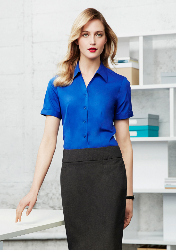 Biz – Ladies Monaco Short Sleeve Shirt – S770LS