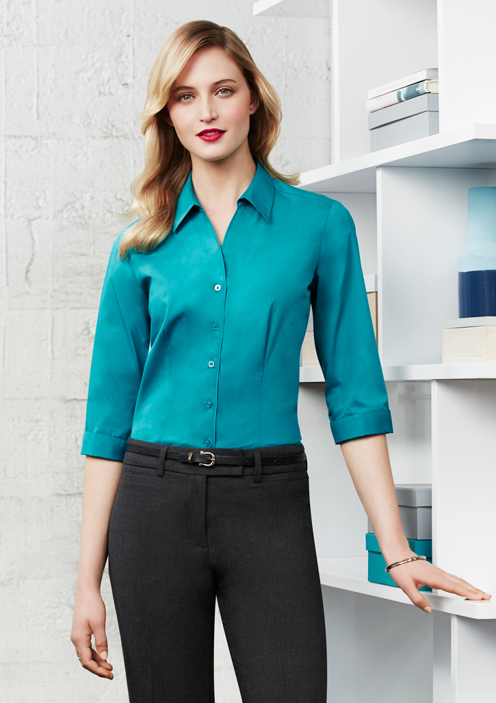 Biz – Ladies Monaco 3/4 Sleeve Shirt – S770LT