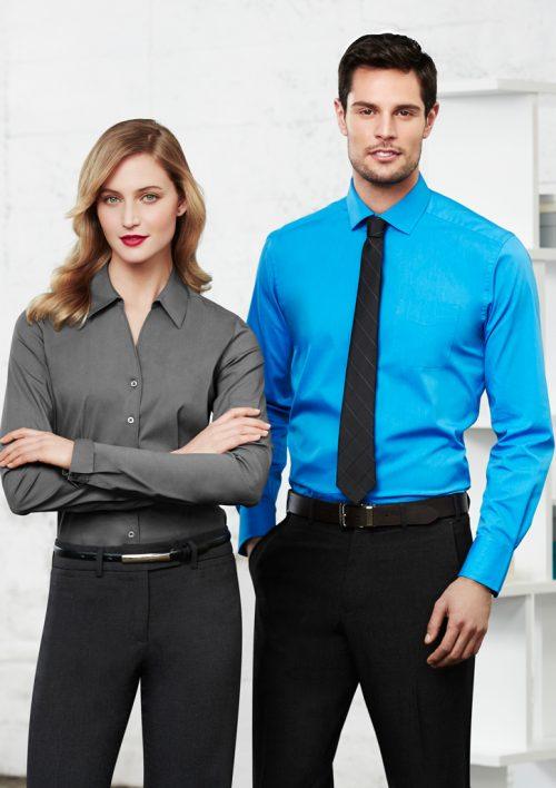 Mens Monaco Long Sleeve Shirt – S770ML