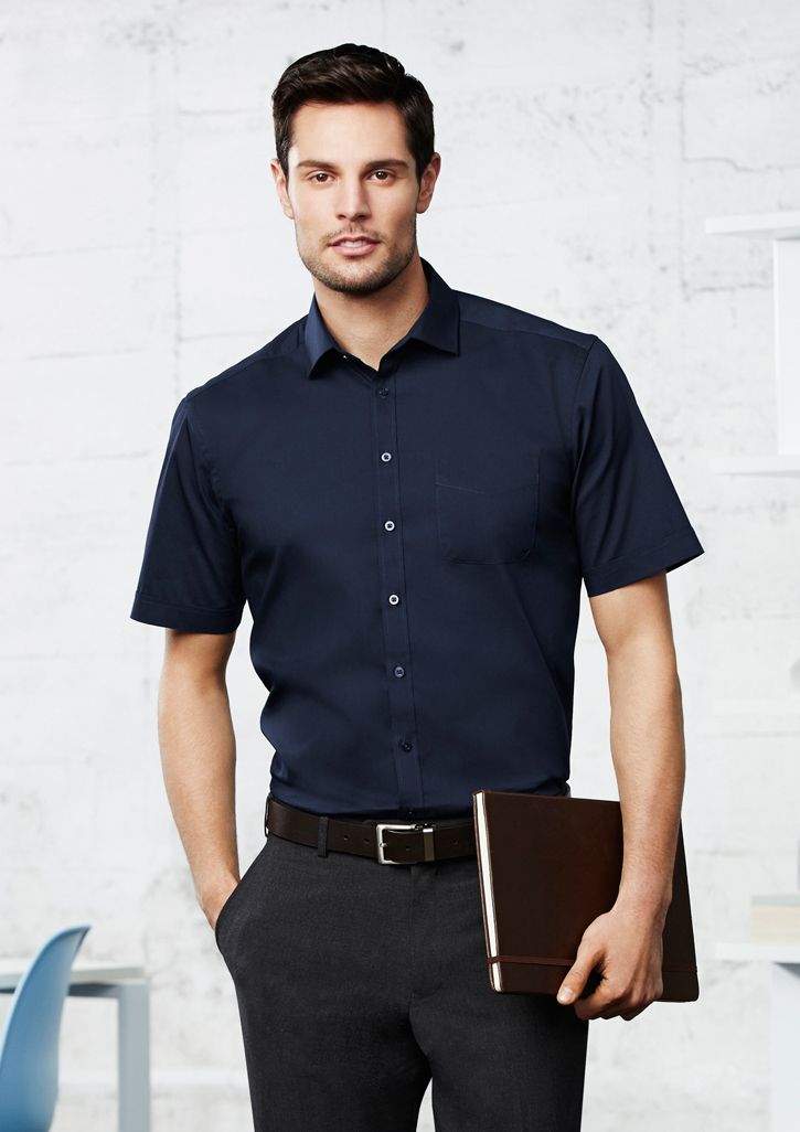Biz – Mens Monaco Short Sleeve Shirt – S770MS