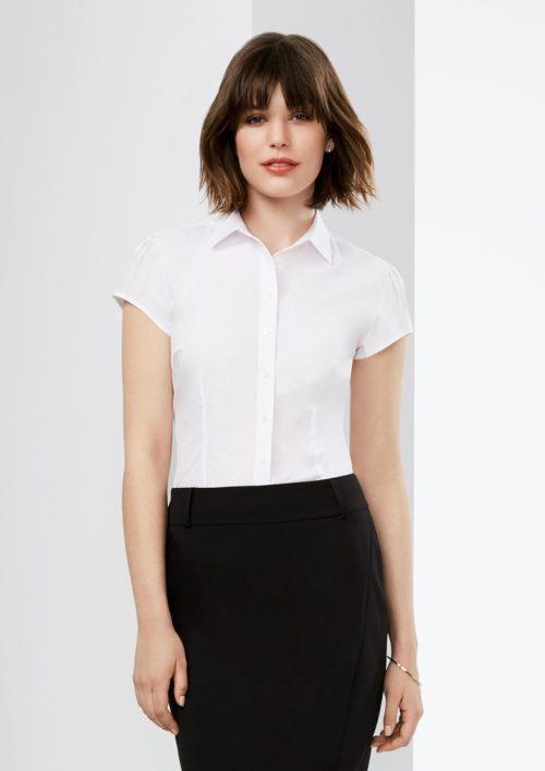 Ladies Euro Short Sleeve Shirt – S812LS