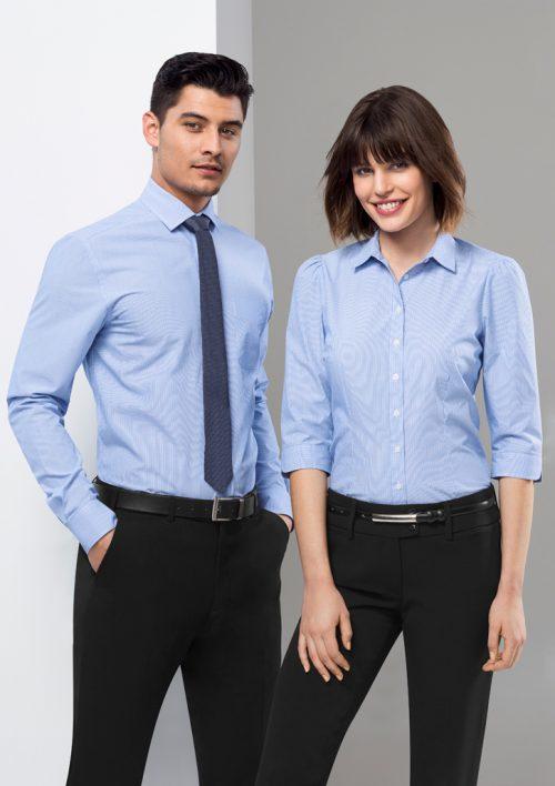 Mens Euro Long Sleeve Shirt – S812ML