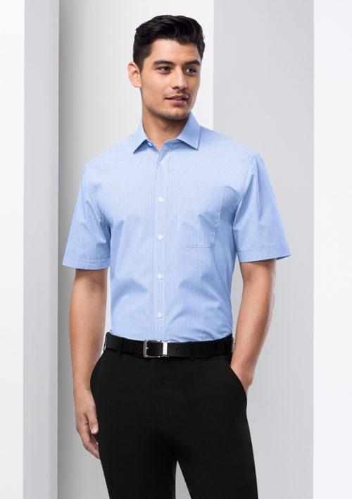 Mens Euro Short Sleeve Shirt – S812MS