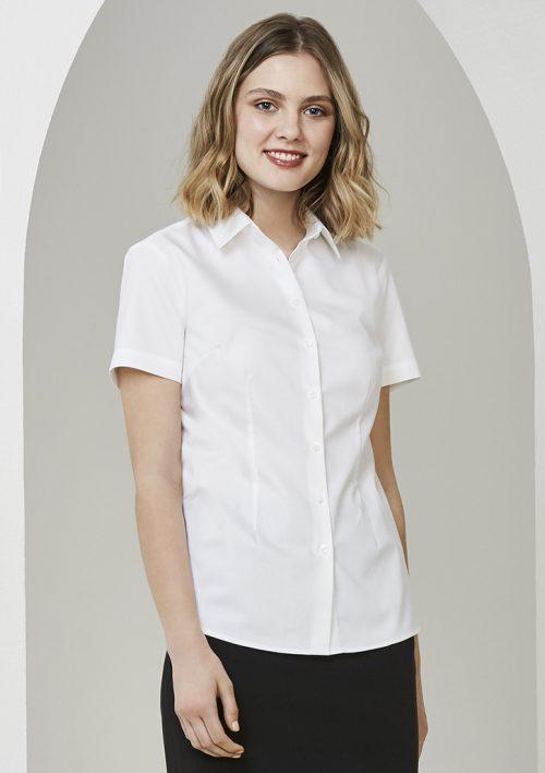Ladies Regent Short Sleeve Shirt – S912LS